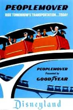 Retired or Extinct Disneyland Rides, Exhibits, and Attractions I Miss Most - Tomorrowland's The PeopleMover 1967 -1995