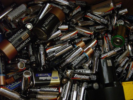 So many wasted batteries..