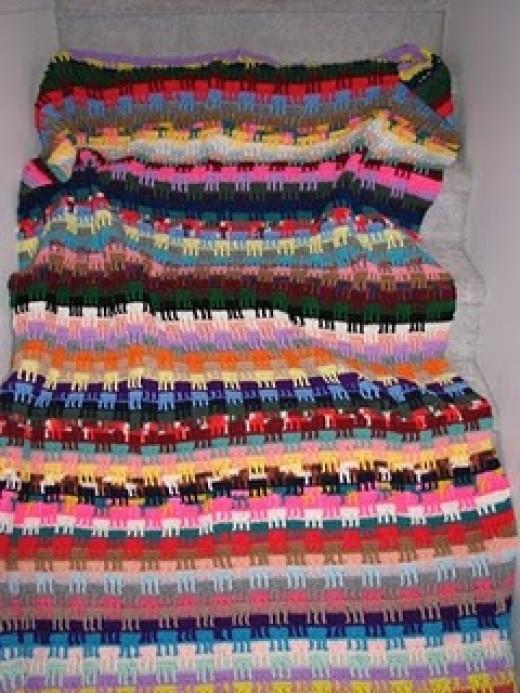 My forever crochet afghan