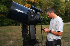 Schmidt Cassegrain telescope
