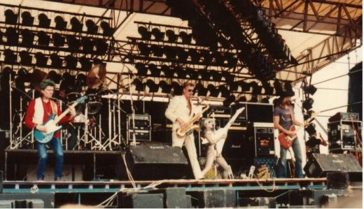 Hawkwind at Donington 1982 by Andrew King