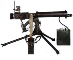 World One War: Vicker's Machine Gun
