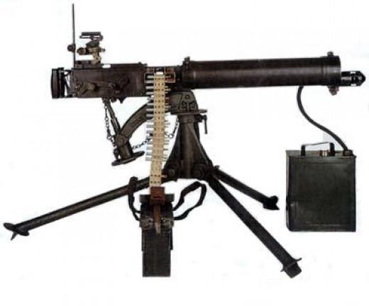 Machine Gun World War 1 World one war: vicker's