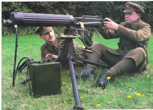 Vickers Machine Gun team