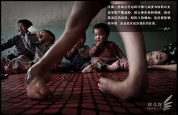 Every year, a lot of deficiency babies in Shanxi Province were abandoned. Kong Zhenlan  in Qi town  who was making a living by recycling trash adopted 25 abandoned children. April 14, 2009