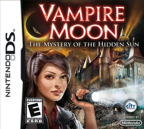 Vampire Moon Mystery DSi Game