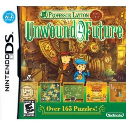 Professor Layton and the Unwound Future Best DSi Game