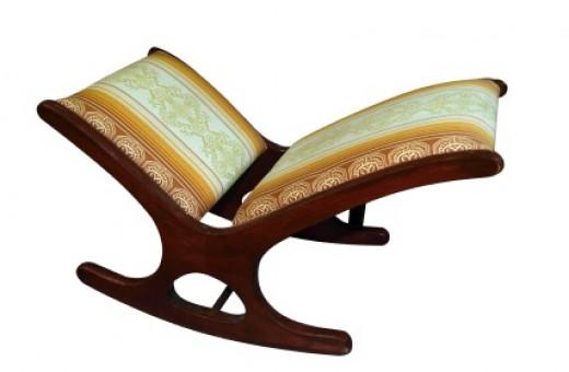 An antique gout stool