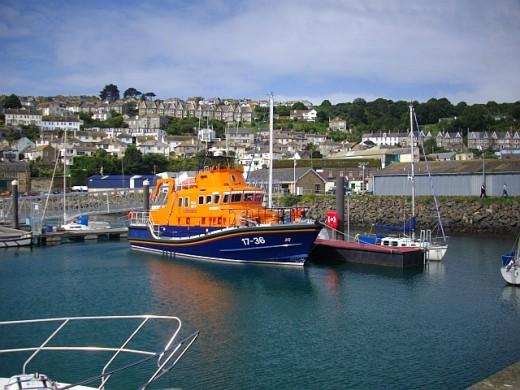 The Penlee lifeboat, the Severn class, Ivan Ellen.