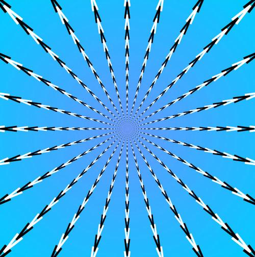 Kinetic Art-perceptual illusions