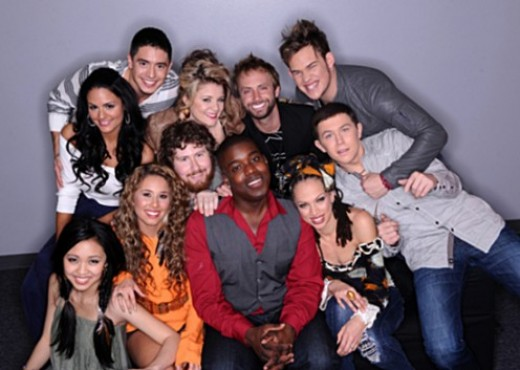 American Idol 2011 Season 10 Top 11