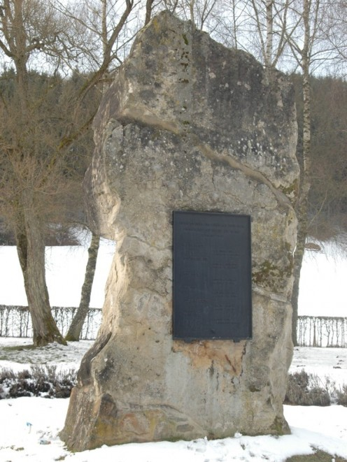 Monument where Germany, Belgium and Luxembourg meet.