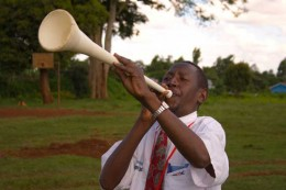 Blow the trumpet in Zion; sound the alarm on my holy hill. Let all who live in the land tremble, for the day of the LORD is coming. It is close at hand--Joel 2:1