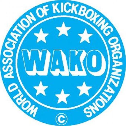Logo of World Association of Kickboxing Organisations, WAKO