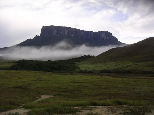 Mt. Kukenan in Venezuela