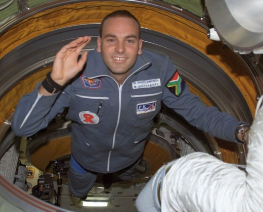 Space tourist Mark Shuttleworth