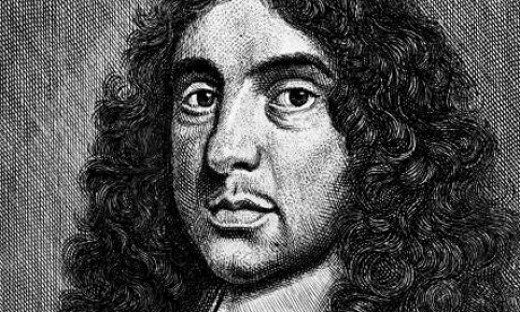Andrew Marvell, who wrote some nice poems, and some odd ones too.  I seem to remember that I did enjoy them when I was at school.