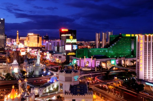 las vegas five exciting places to stay