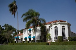 The Muckenthaler Mansion also a Cultural Center in Fullerton, California.