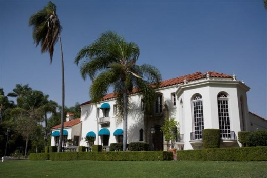 The Muckenthaler Mansion also a Cultural Center in Fullerton, California.