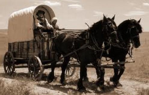 Wagon Trains.
