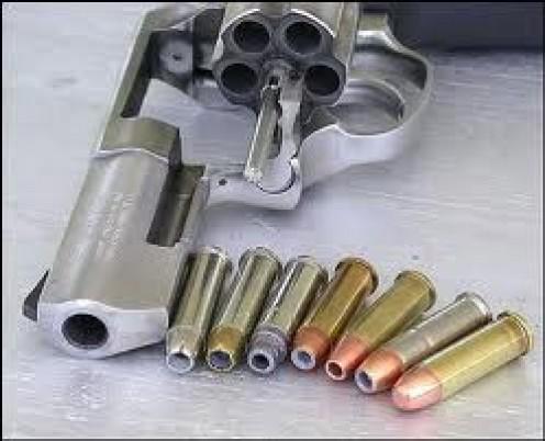 357 Magnum Revolver.