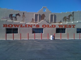 Bowlin's Old West Trading Post west of Las Cruces