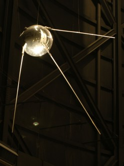 Sputnik 1. Source=http://www.nationalmuseum.af.mil; [http://www.nationalmuseum.af.mil/shared/media/photodb/