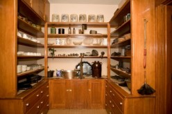 Creating an Antique Kitchen Pantry for Efficient Storage
