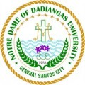 Seal of Notre Dame of Dadianga University Image Source: http://philippines.panpages.com