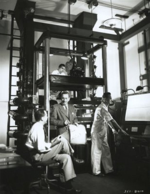 The famous multiplane camera