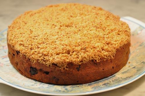 Homemade Apple Streusel Cake. Image:  Siu Ling Hui
