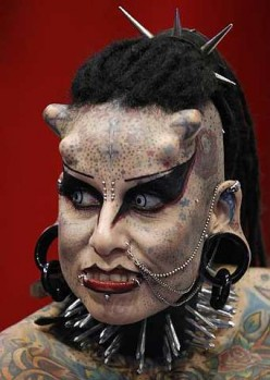 Queen of Hell. Vampire Woman from Mexico