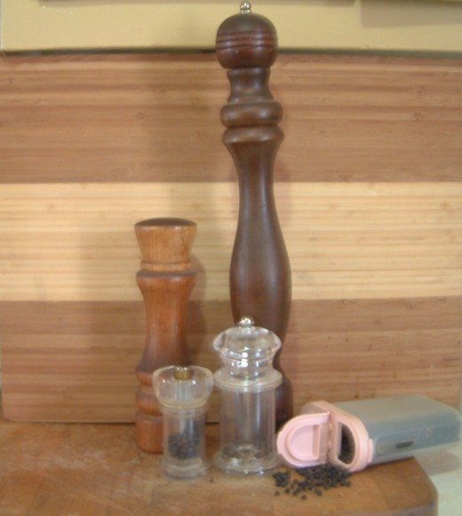 My Pepper mill collection