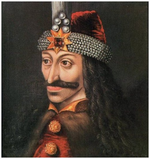 Portrait of Vlad III Dracula (Vlad Tepes), produced after his death.