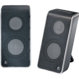 Logitech V20 Notebook Speakers (front)