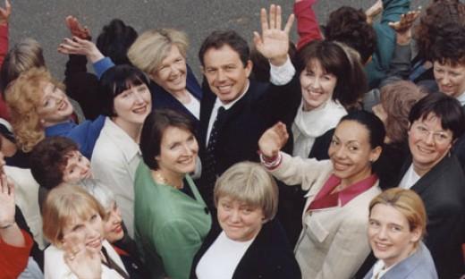Blair's 'babes'