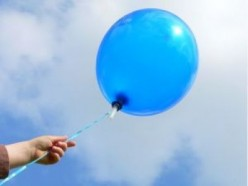 Blue Balloon...a poem