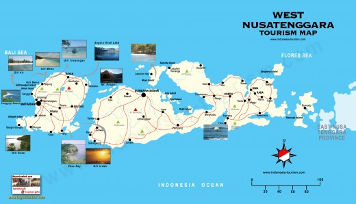 Top Destination of West Nusa Tenggara