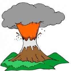 How To Make A Vinegar Volcano - A Simple Science Project