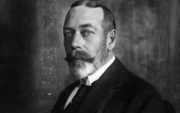 King George V was welcomed to Ireland in 1911.