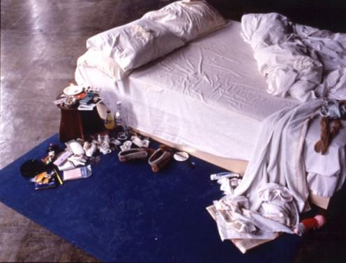 Tracey's Unmade Bed