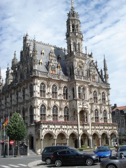 Town Hall at Oudenaarde, Belgium
