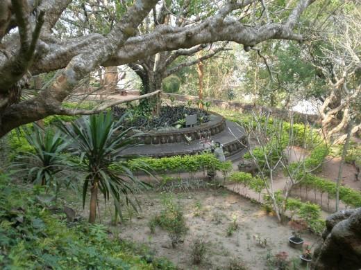 Phu Si Gardens, Luang Prabang, Laos.