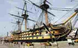 HMS Victory:  The Ship They Can't Decommission.