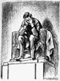 Mauldin s Lincoln Cartoon. shows the statue of Lincoln weeping over death of John Kennedy