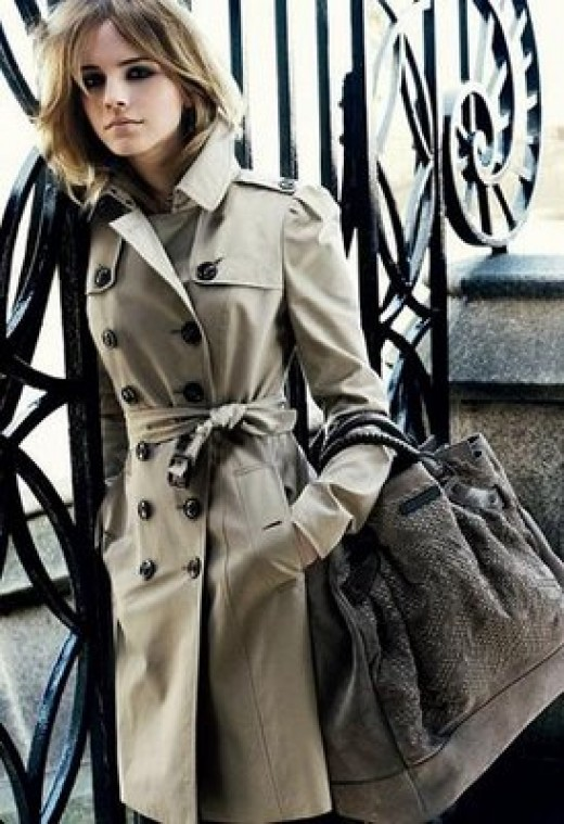 Emma Watson Burberry Campaign