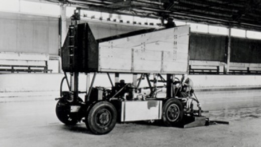 The first Zamboni....ever.