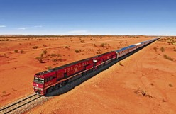 The Ghan..a safe and exciting way to travel the outback. Image from smh.com.au