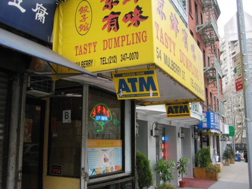 Tasty Dumpling on Mulberry St.